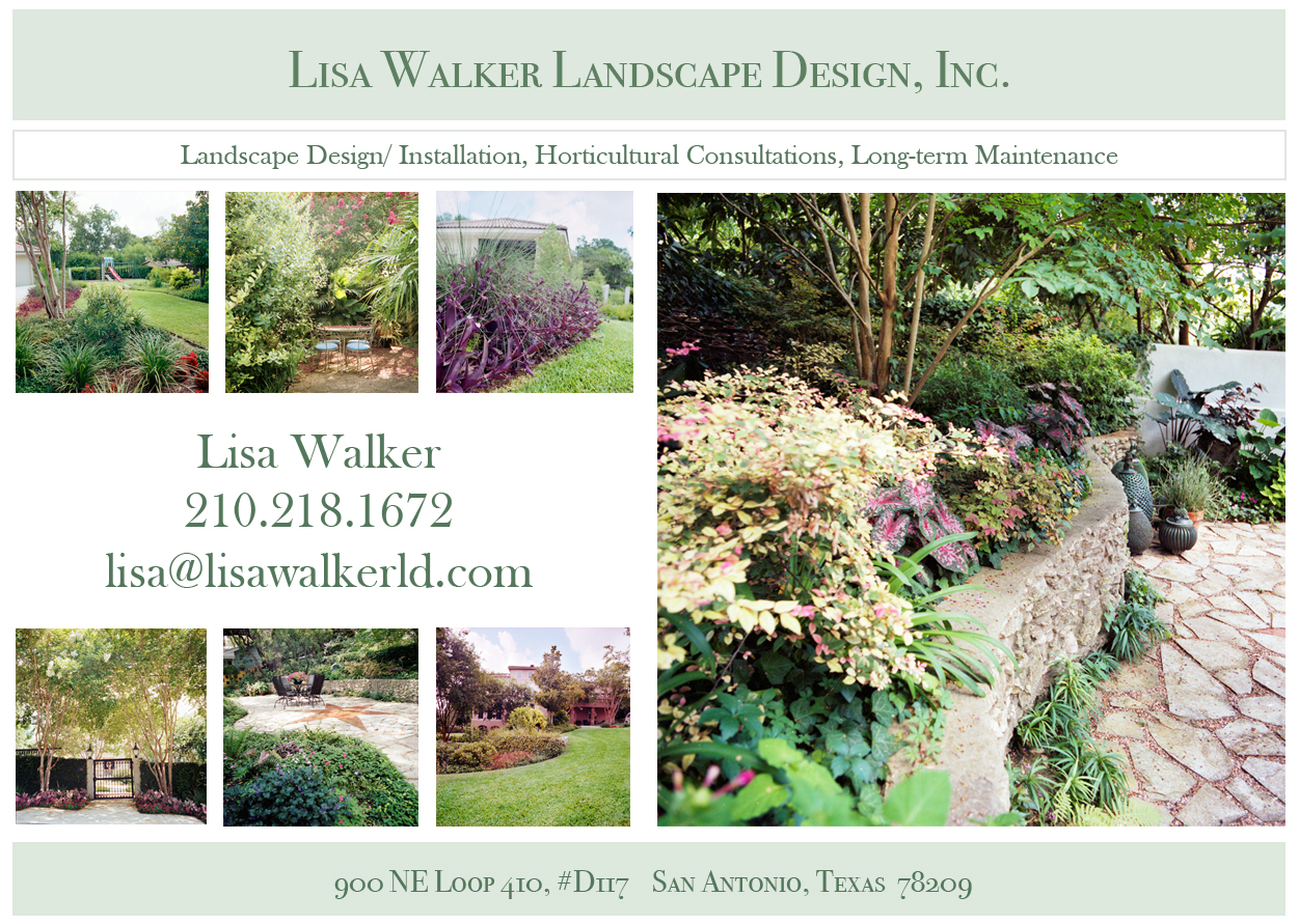 Lisa Walker Landscape Design, Inc.
